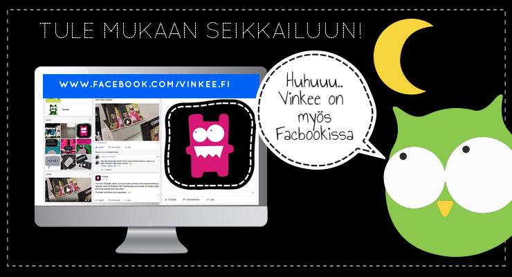 Käy tykkäämässä meistä Facebookissa!