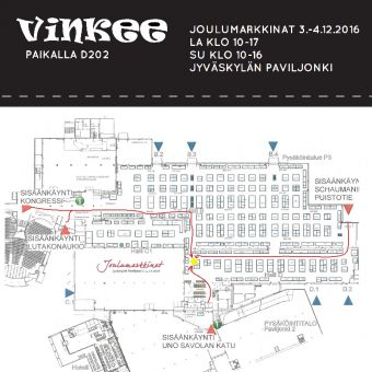 Joulumarkkinat Jyväskylässä 3.-4.12.