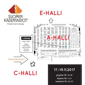 Suomen Kädentaidot Tampereella 17.-19.11.2017