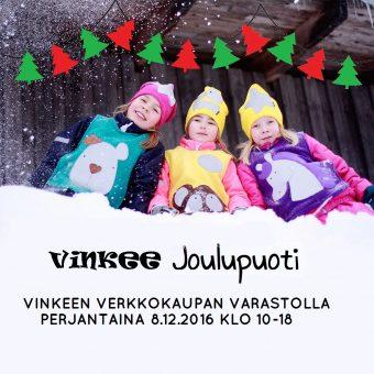 Verkkokaupan varastolla Joulupuoti 8.12.2017