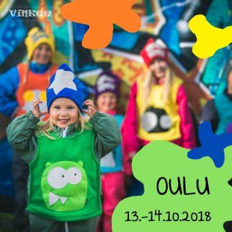 OULU!! Olemme mukana Kädentaitomessuilla 13.-14.10.2018