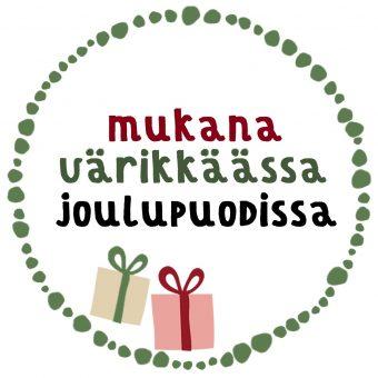Värikäs Joulupuoti Kauppakeskus Sepässä Jyväskylässä!