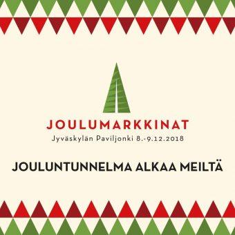 Joulumarkkinoilla Jyväskylässä Paviljongissa 8.-9.12.!